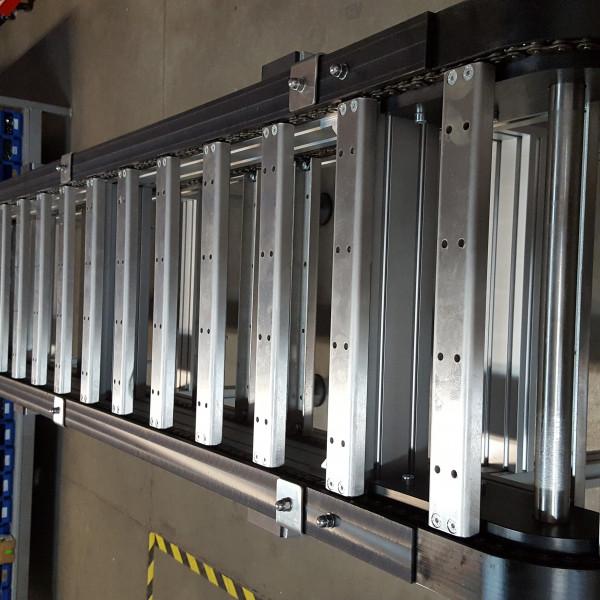 Транспортеры с пластинчатой цепью транспортер поднимает за 1 мин груз массой 300 кг на высоту 8 м