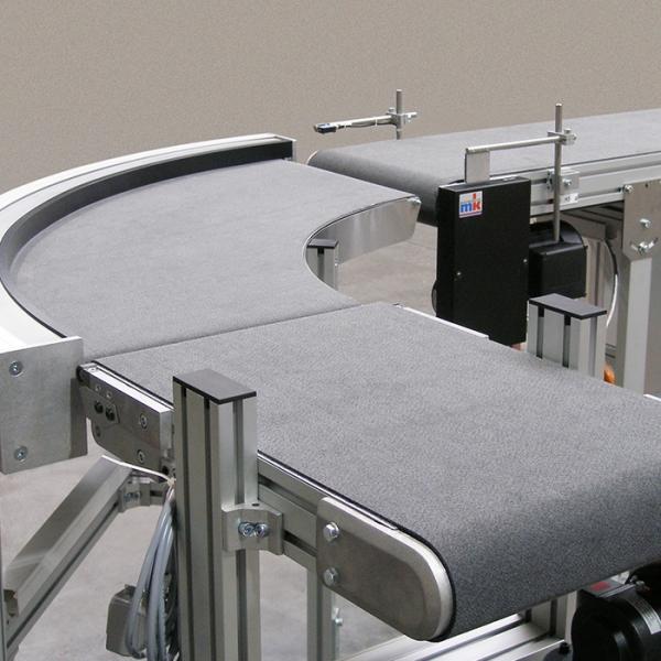 Przenośniki taśmowe z konstrukcją aluminiową