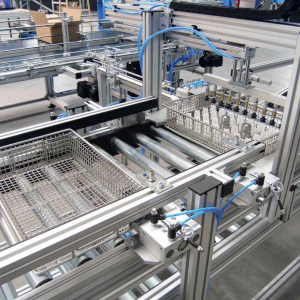 Zrobotyzowane systemy paletyzacji i pakowania