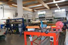 Otwieramy centrum produkcji taśm transportowych.