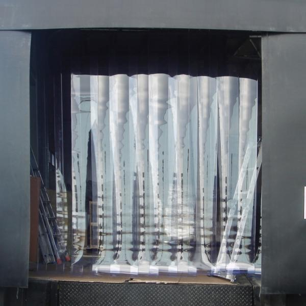 Kurtyny paskowe PVC